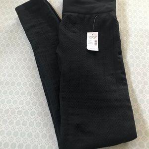 NWT Cable Fleece Lined Leggings